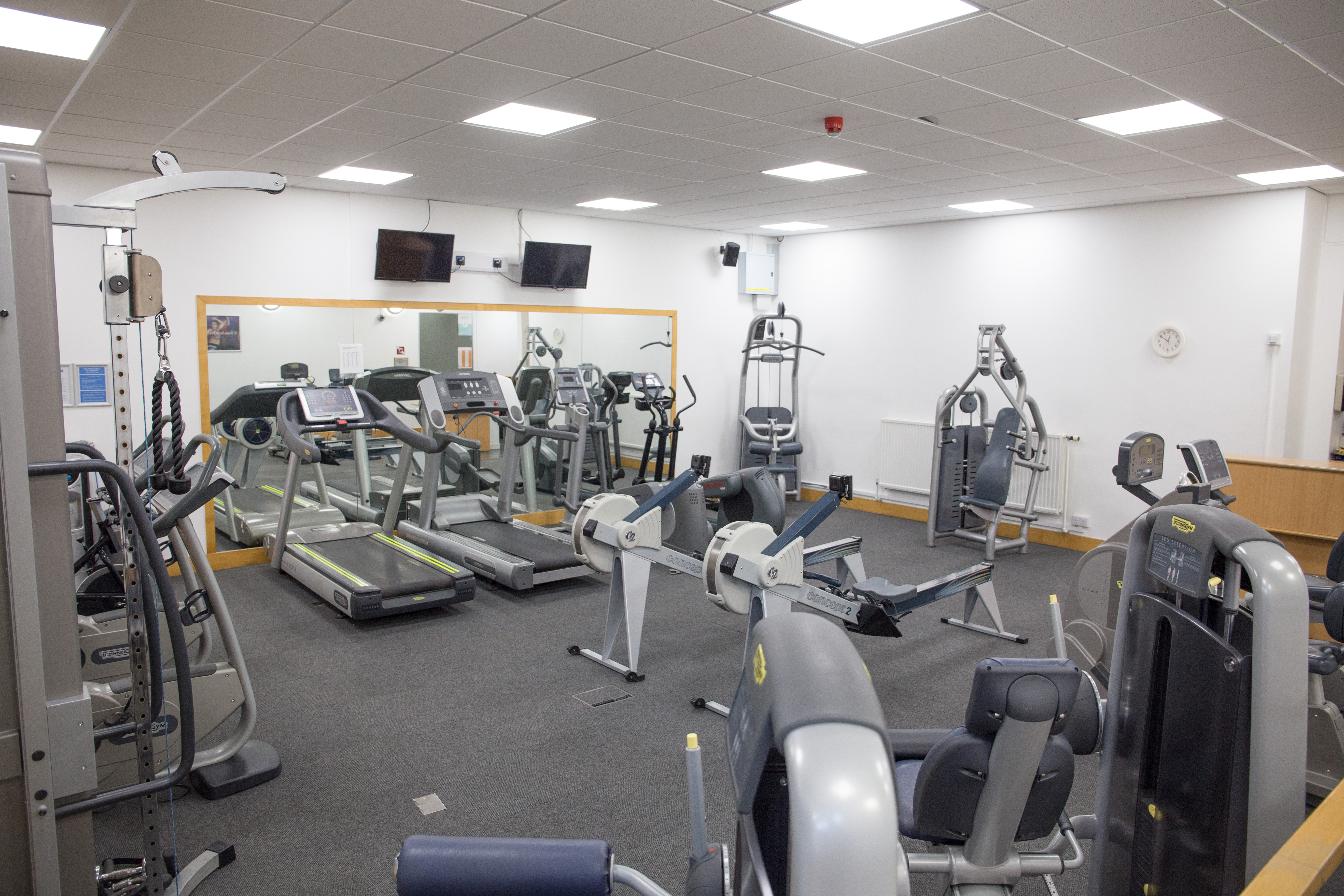 Gym hire at Chesterfield College